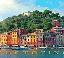 Portofino Italy by leksele