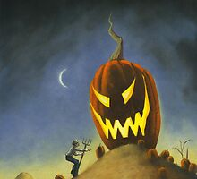 BOO! It's the Great Pumpkin Farmer Brown by StacyDrum