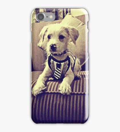 Classy Pup Pup iPhone Case/Skin