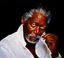 Glow - Morgan Freeman (Normal) by TeamIrora