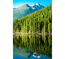 Mountain Lake Reflections Photographic Print