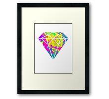 Candy Diamond Framed Print