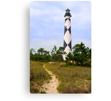 Pathway to Cape Lookout Lighthouse Canvas Print