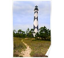 Pathway to Cape Lookout Lighthouse Poster