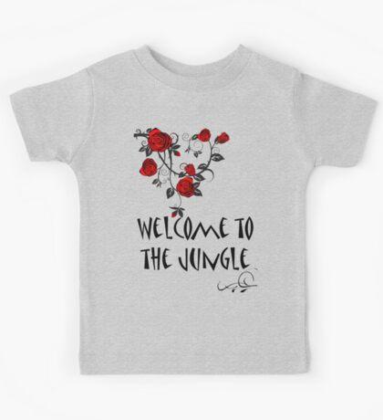 Welcome to the Jungle Kids Tee