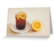 Glass of Ice Tea Greeting Card