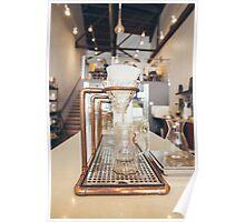 Gourmet Filter Coffee Setup Poster