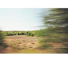 Dry Sierra Nevada Landscape Photographic Print