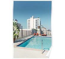 Rooftop Pool Poster
