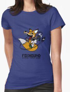 Fox Hound Womens Fitted T-Shirt