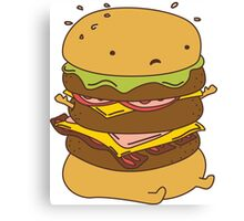 Burger Got Back Canvas Print