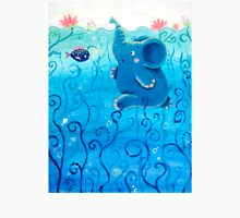 Underwater Adventure - Rondy the Elephant Painting Unisex T-Shirt