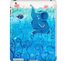 Underwater Adventure - Rondy the Elephant Painting iPad Case/Skin