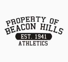 BEACON HILLS ATHLETICS by elevensie