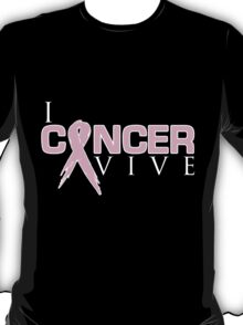 I Can Survive - Breast Cancer T-Shirt