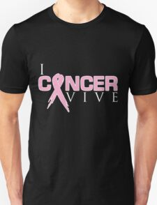 I Can Survive - Breast Cancer Unisex T-Shirt