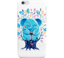 Hiding Place - Rondy the Elephant Sitting In a Tree iPhone Case/Skin