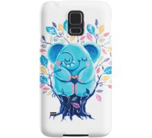 Hiding Place - Rondy the Elephant Sitting In a Tree Samsung Galaxy Case/Skin