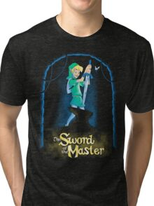 Sword of the master (redeux) Tri-blend T-Shirt