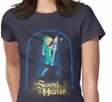 Sword of the master (redeux) Womens Fitted T-Shirt