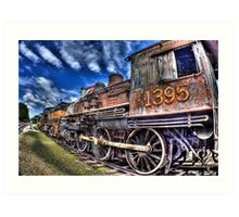 Coopersville & Marne Railway: Coopersville, Michigan Art Print