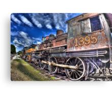 Coopersville & Marne Railway: Coopersville, Michigan Metal Print