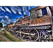 Coopersville & Marne Railway: Coopersville, Michigan Photographic Print