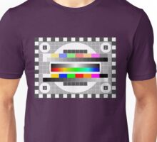 TV Test Pattern Unisex T-Shirt