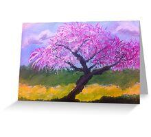 Blossom Tree by Terri Holland Greeting Card