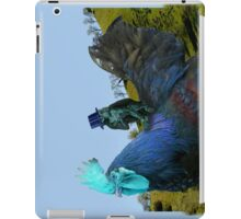 Monkey Back Rider iPad Case/Skin