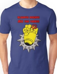 Tabletop gaming - always angry, all the time - powerfist Unisex T-Shirt