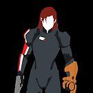 Commander Shepard - Mass Effect 3 by RobsteinOne
