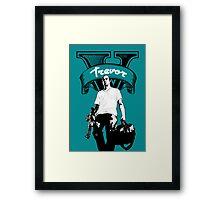 GTA 5 - Trevor Framed Print