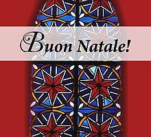 Buon Natale! Italian Religious Christmas Card by SandraRose
