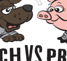 Crunch VS Pretty Sticker