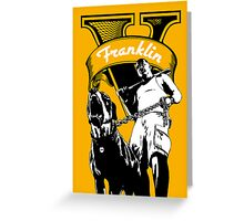 GTA 5 - Franklin Greeting Card