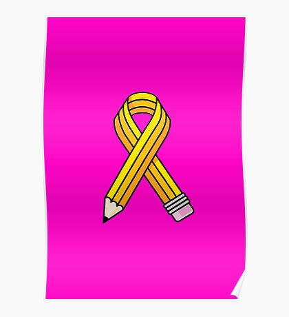 Creative Cause (Yellow School Pencil) Poster