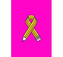 Creative Cause (Yellow School Pencil) Photographic Print