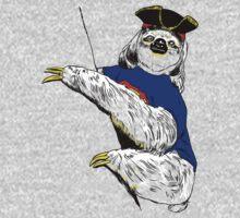 Sloth Love Trunk Kids Tee