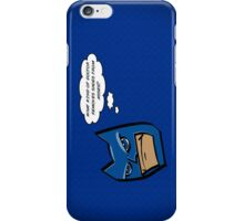 Bat in Thought, What Doctor? iPhone Case/Skin
