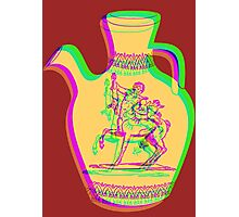 Greek Vase 3 Photographic Print