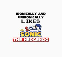 Ironic and Unironic Sonic Love Unisex T-Shirt