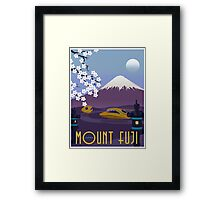 Race to Mount Fuji Framed Print