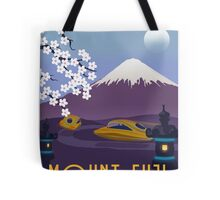 Race to Mount Fuji Tote Bag