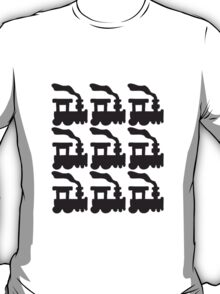 Train Pattern T-Shirt