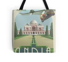 Adventure Awaits in India Tote Bag