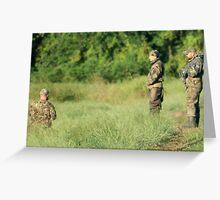 Hunters Greeting Card