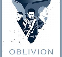 Oblivion Poster By Spiritius by NicBroInc