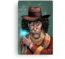 Dr Who Tom Baker Canvas Print