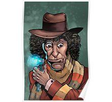 Dr Who Tom Baker Poster